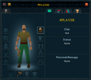 Player examine