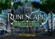 Prifddinas lobby banner
