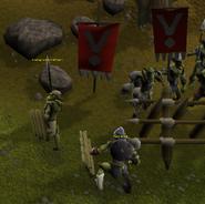 The goblins retreat