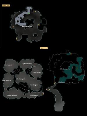 Ancient Cavern kaart
