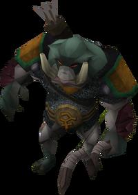 Bandosian bodyguard (Ork ranger)