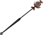 Blood talisman staff detail