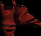 Dragon boots detail