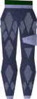 Dragonhide chaps (t) (blue) detail old