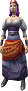 Fayre (Fortune Teller) (female) equipped