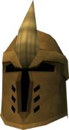 Golden Dharok's helm detail