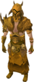 Golden warpriest of Bandos armour equipped.png