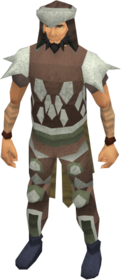 Leather armour (class 3) equipped