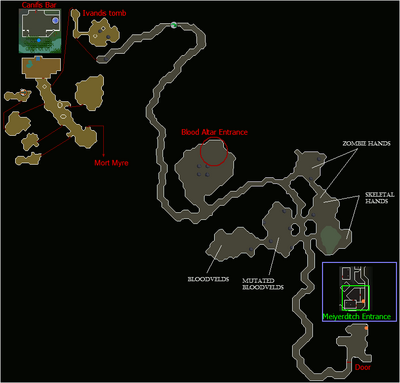 Meiyerditch Dungeon map