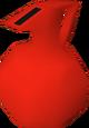Molho vermelho apimentado detalhe