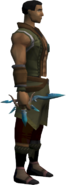 Ornate dagger equipped
