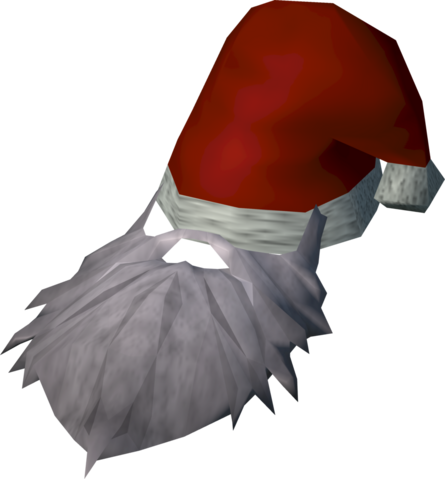 File:Santa hat with beard detail.png