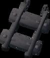 Steel track 100% detail