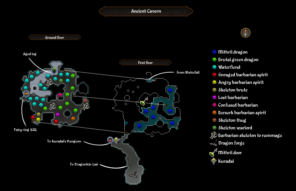 Map:Ancient Cavern | RuneScape Wiki | FANDOM powered by Wikia