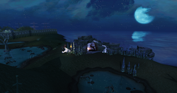 Araxyte lair outside