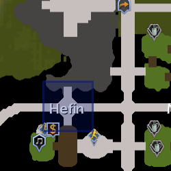 Hefin herald location