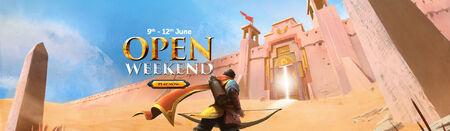 Open Weekend head banner
