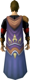 Pathfinder cape equipped