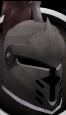 Steel heraldic helm (HAM) chathead