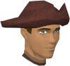 A stylish hat (male, maroon) chathead.png