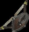 Arco-escudo de carvalho detalhe