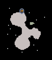 Cosmic entity's plane map