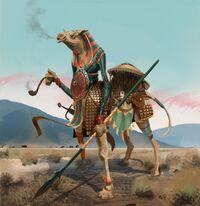 Elite Mobs concept art - Camel