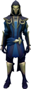 Faceless Assassin (blue) equipped