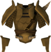 Golden Torag's platebody detail