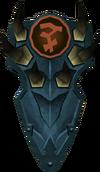 Rune kiteshield (Bandos) detail