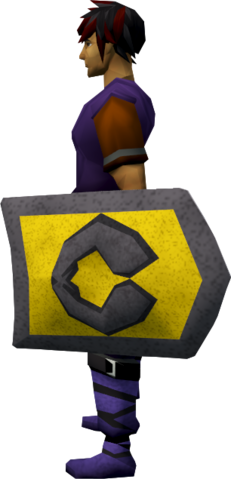 File:Steel kiteshield (Varrock) equipped.png