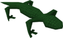 Swamp lizard wild