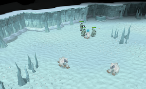 Yeti Ice Dungeon