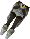 Blessed dragonhide chaps (Armadyl) detail