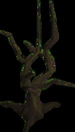 Dead tree built