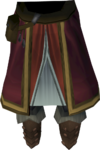 Diviner's legwear detail