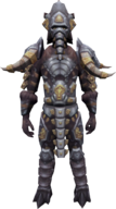 Elite Mammoth Armour (male) equipped