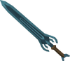 Espada rúnica detalhe