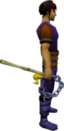 Fayre Hook-a-Duck Flail equipped