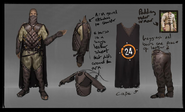 GameBlast outfit concept art