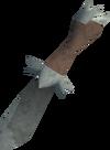 Off-hand dagger (class 5) detail