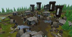 Prifddinas elf camp