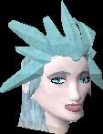 Queen of snow head