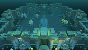 Zilyana boss room