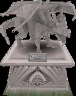 2001 Elvarg statue