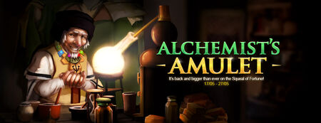 Alchemist's Amulet banner 2