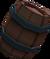 Barrel of bait detail