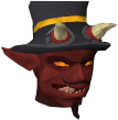Charming imp chathead old