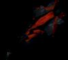 Drygore mace (blood) detail