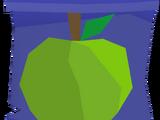 Fruitfall scroll
